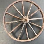 Mini Vintage Bicycle Wheel Rim Great As A Man Cave Decor Item Junk Mail