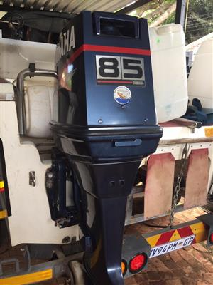 2 X Yamaha 85 Hp Outboard Motors For