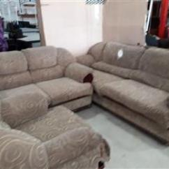 Second Hand Living Room Furniture Turquoise White And Gold In Pretoria Junk Mail Lounge Suite 5 Seater