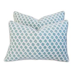 designer Italian Fortuny Persiano pillows