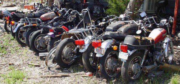 Motorcycle Salvage Yards Locator - Junk