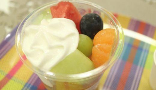 栄『弘法屋コウボウヤ』生フルーツジュースやカットフルーツが気軽に楽しめるオアシス!