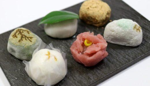 名古屋・錦『川口屋』12月師走の和菓子6点、椿餅やわらび餅をご紹介