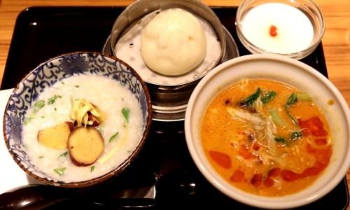 名古屋・栄地下でお粥ごはん!『粥餐庁 (カユサンチン)』はメニュー豊富でほっこりおいしい