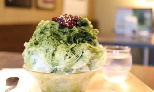 京都の「特濃宇治抹茶のかき氷」を築80年の古民家でいただく!京都アンテナショップ『丸竹夷』