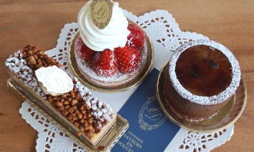 浄心『サヴールオンドゥスール』元ホテルパティシエの上品なケーキ屋オープン!