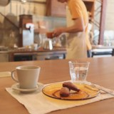 鶴舞『喫茶クロカワ』インダストリアルな空間でいただく自家焙煎コーヒーと自家製スイーツ