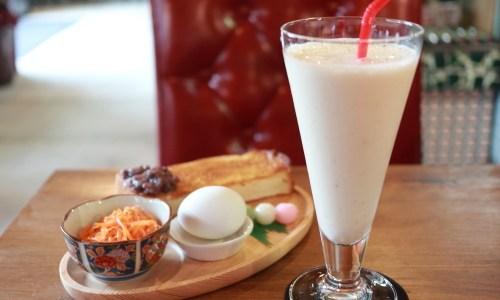 岩倉『3丁目の米乃屋』昭和レトロなタイムスリップカフェで豪華モーニング!バナナジュースがおすすめ!