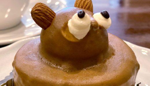 笠寺『亀屋芳松』和菓子屋が営む昭和純喫茶でタヌキケーキ!甘味~ランチまで、駐車場も豊富