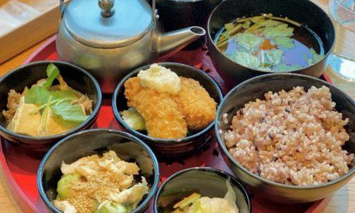 名古屋駅 KITTE『カフェ アパートメント』3品選べる至福ごはん和定食がランチから終日食べられる人気カフェ