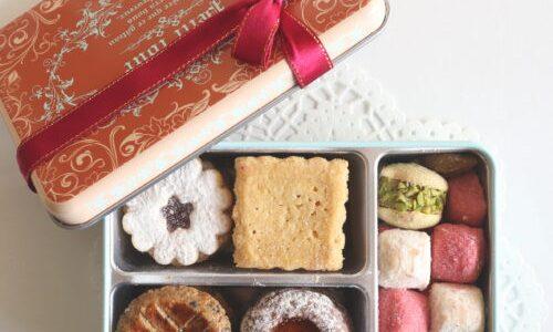 アトリエうかいクッキー缶『フールセック』を食レポ、素材の良さが伝わる上品な甘さと食感!