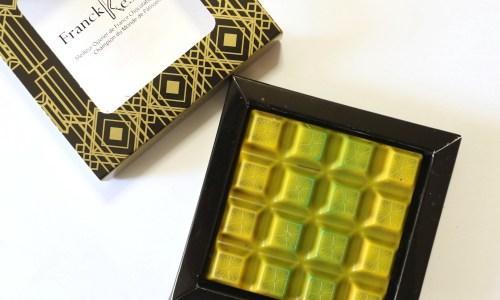 フランクケストナー「タブレットベルガモット」ジューシー感のあるジュレがあふれる美しいタブレット