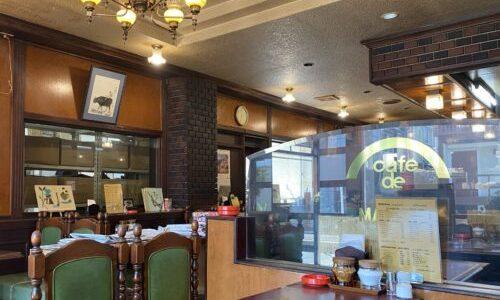 瑞穂区『カフェ ド 豆田』昭和レトロでシック、挽きたてコーヒーが楽しめるレトロ喫茶店