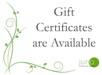 Juno Gift Certificates