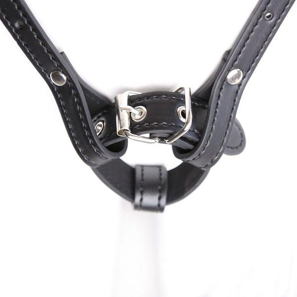Leather Female Chastity Belt