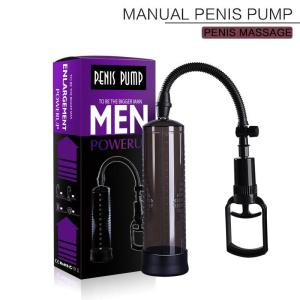 Black New Peni Pump Vacuum Jars Massager For Men Enlargement Pump Peni Massager Enlarger Pumps Exerciser For Male Health Care