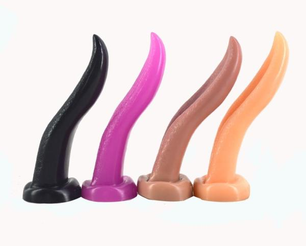 Tongue Shape Dildo