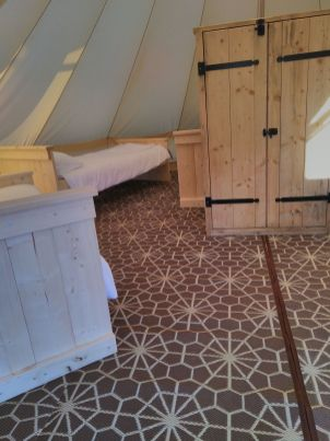 bell tent xl inrichting 2