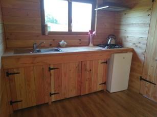 Keuken eco-chalet