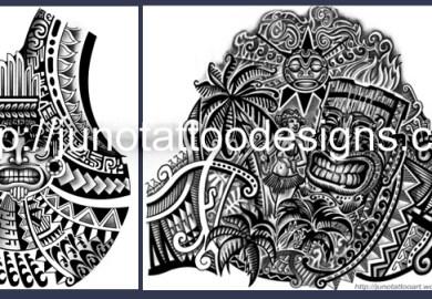 Tattoos Samoan Designs
