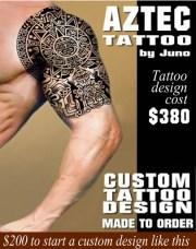 aztec tattoos & templates calendar