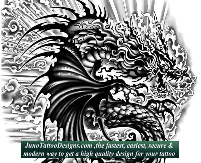 dragon tattoos create your