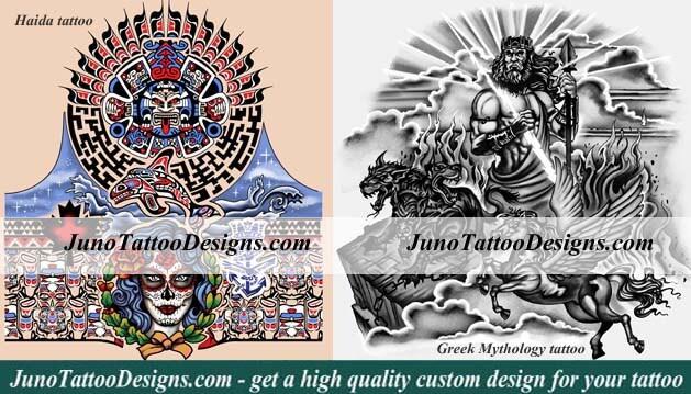 Sleeve Tattoo Stencils Free