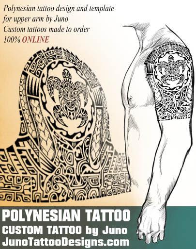 polynesian samoan tattoo, turtle tribal tattoo, juno tattoo designs