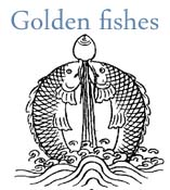 tibetan golden fishes