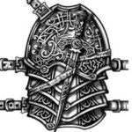 armor tattoo, celtic knot tattoo, chest tattoo, celtic tattoo, juno tattoo designs, tattoo template