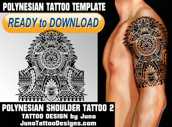Samoan Tattoo Design For Girls