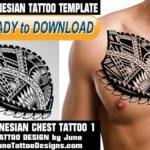 polynesian tattoo chest, The Rock tattoo, tribal tattoo, samoan tattoo, tattoo template, juno tattoo designs