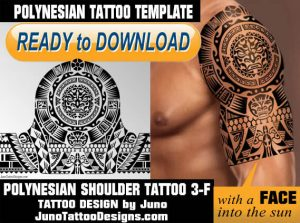 polynesian shoulder tattoo 3 tiki, tattoo template juno tattoo designs