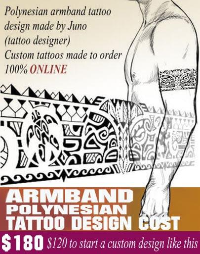 Polynesian Armband Tattoo Stencil : polynesian, armband, tattoo, stencil, Polynesian, Armband, Tattoo, CUSTOM, TATTOO, ONLINE