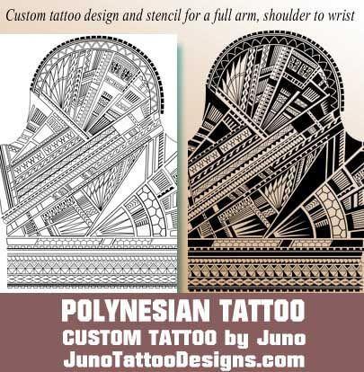 polynesian tattoo, juno tattoo designs