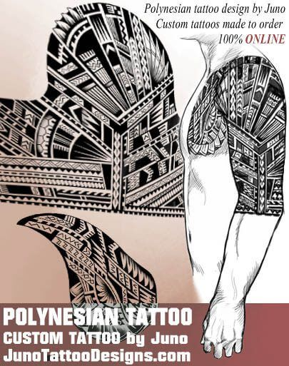 polynesian tattoo, tribal tattoo, samoan tattoo, juno tattoo designs