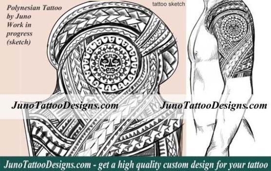 polynesian-tattoo, sleeve tattoo tribal, samoan tattoo, tattoo sleeve, junotattoodesigns