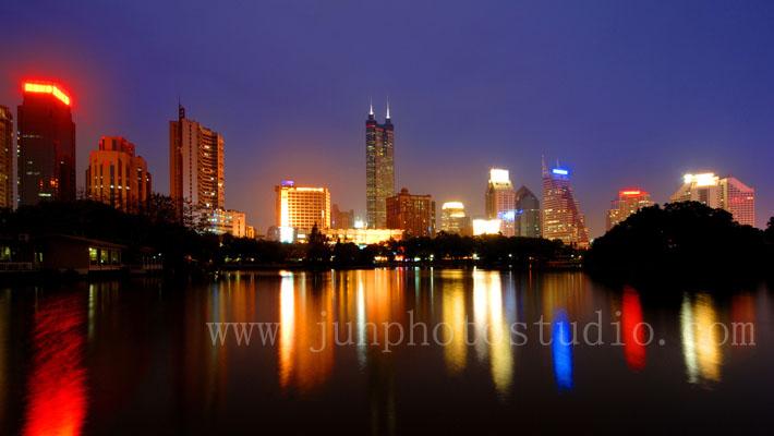 shenzhen night view