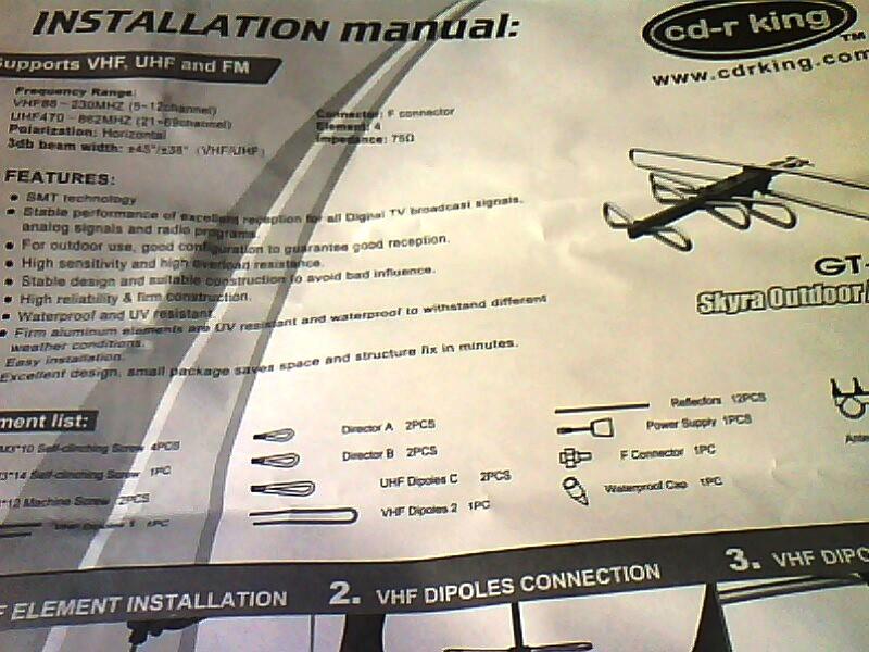 DIY: Installing a CDR-King's P280-Outdoor TV Antenna (5/6)