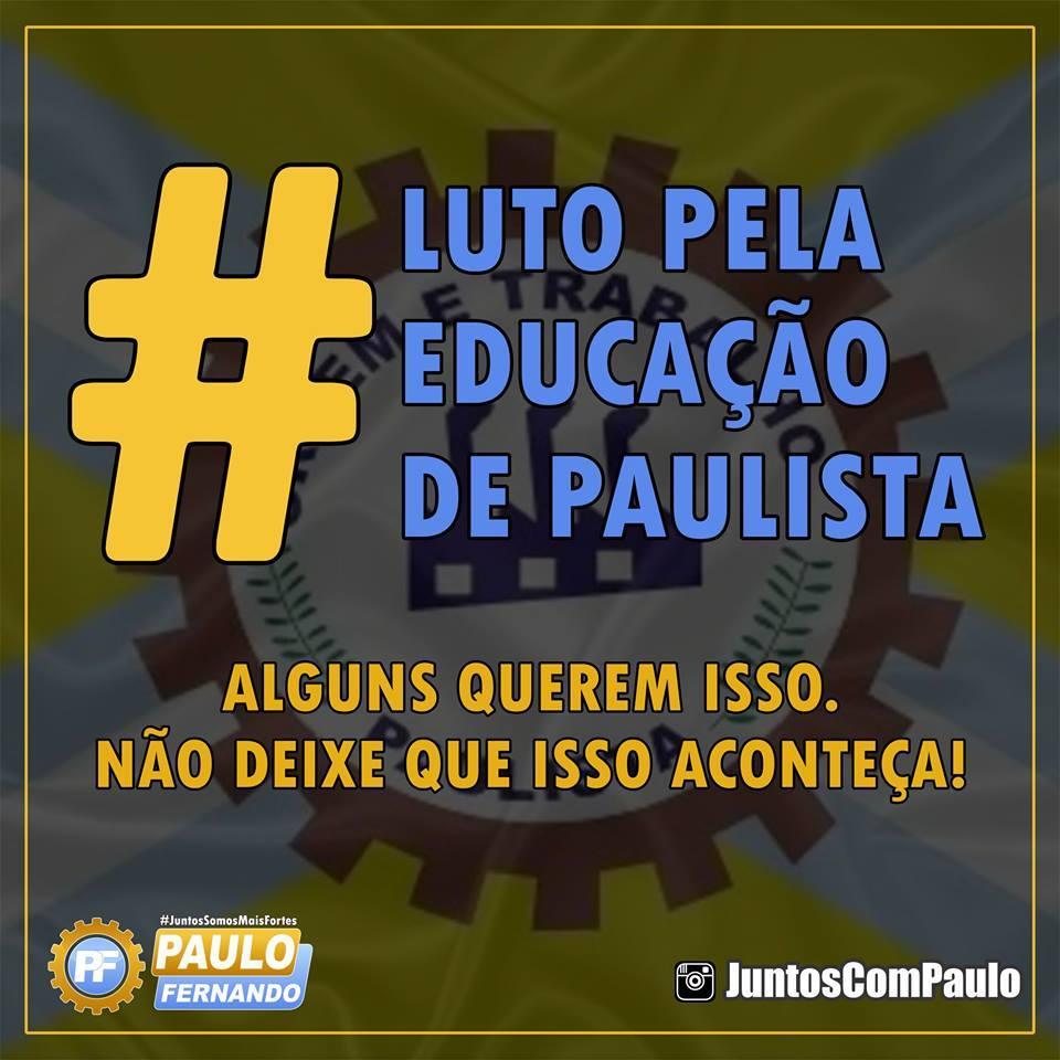 3 Paulo Fernando luta por uma educação melhor