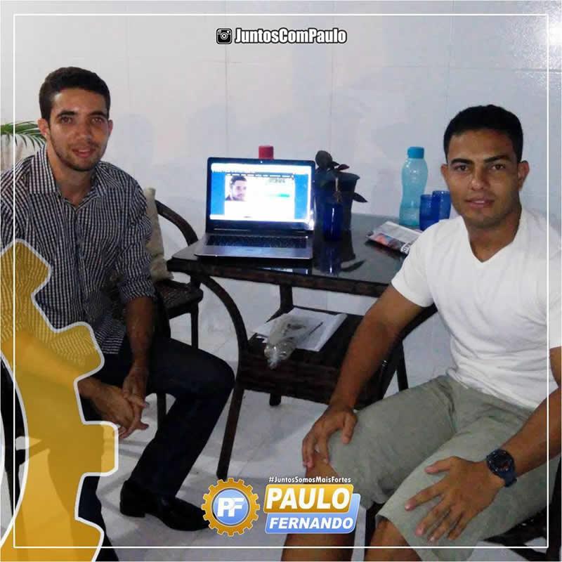 Lideranças de Jardim Paulista estão com Paulo Fernando