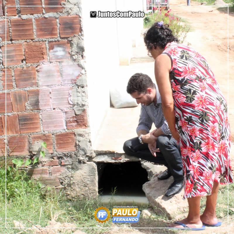 Paulo Fernando é bem recebido nas comunidades Paulistenses 2