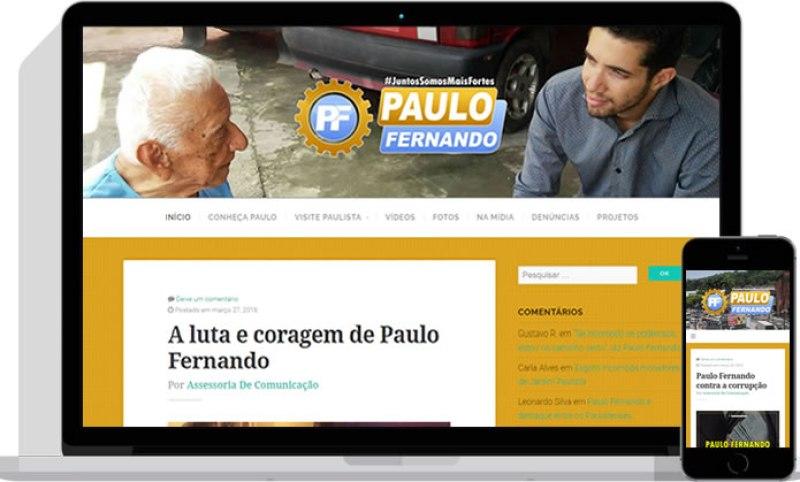 Site de Paulo Fernando