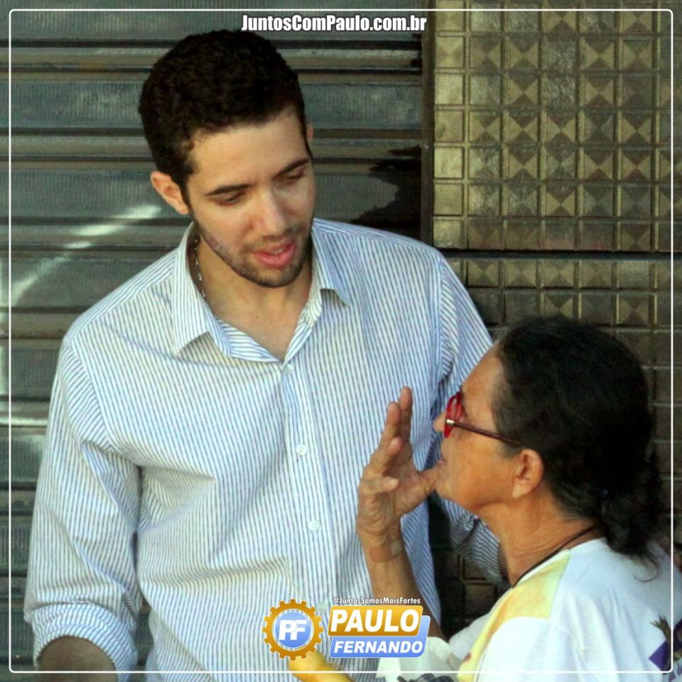 Paulo Fernando cumpre agenda política no bairro de Maranguape I (4)