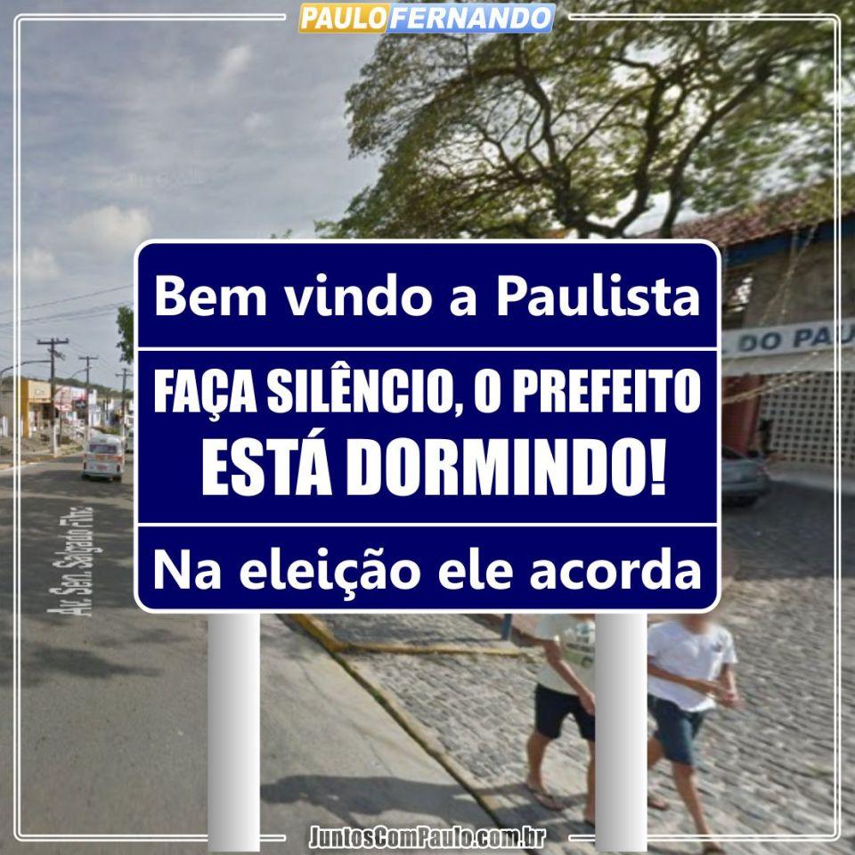 Cenário atual de Paulista