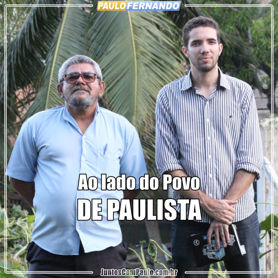 Paulo Fernando segue com agenda intensa