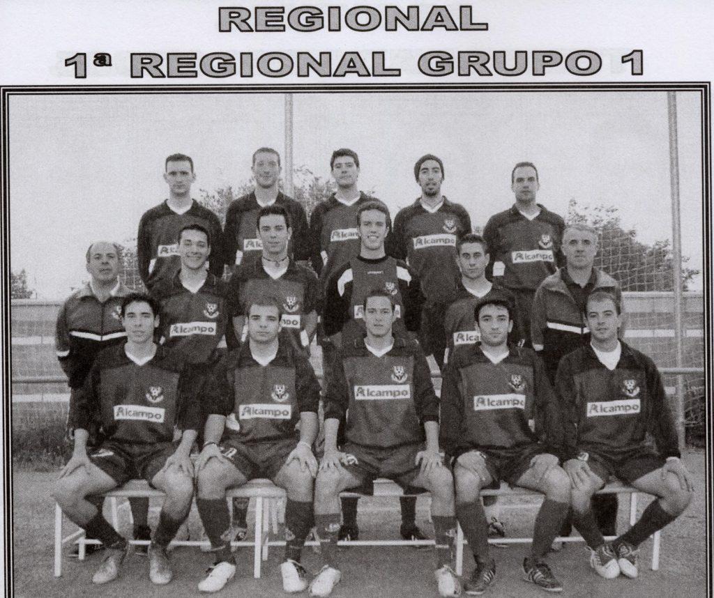 Plantilla San José 1ª Regional 04-05