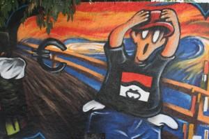 El Grito o La Crisis (Sr.Plástiko VS Munch)
