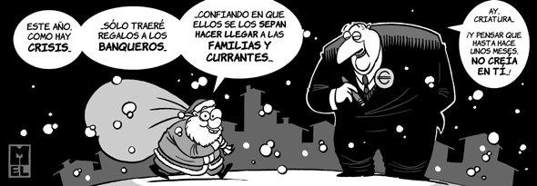 Mel - Felices Fiestas (El diario de Cádiz, 24/12/2008)
