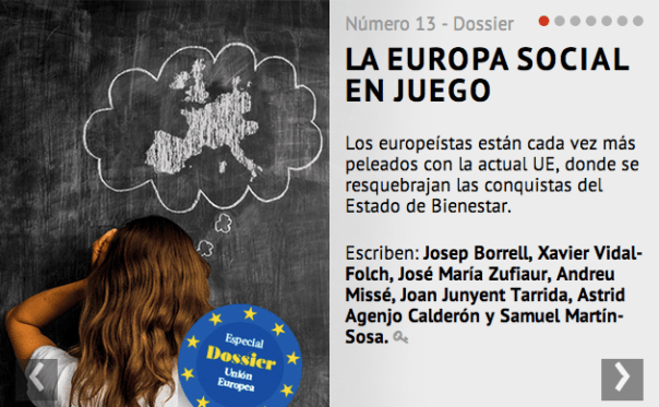 Dossier UE Alternativas Economicas Abril 2014